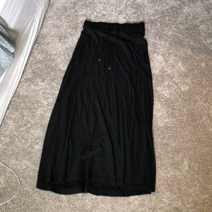 Black Victoria's secret maxi skirt